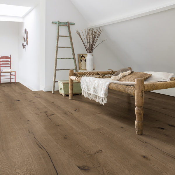 Quick-Step Massimo Donkere chocolade eik geolied extra mat
