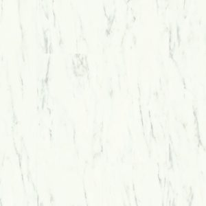Quick-Step Ambient Click Carrara Marmer Wit